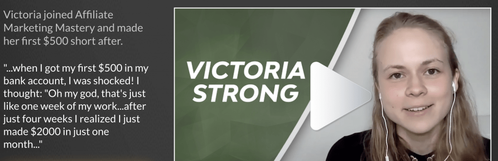 VICTORIA STRONG SUCCESS STORY