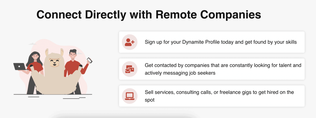 Connect Directly with Remote Companies